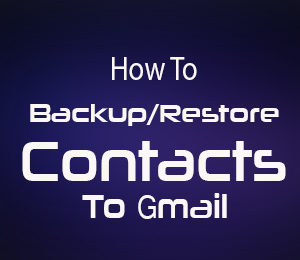 How To Backup Iphone Contacts |