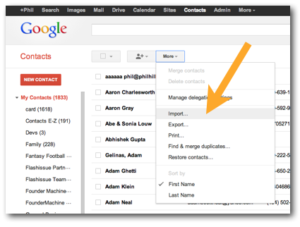 import-contacts-to-gmail iphone