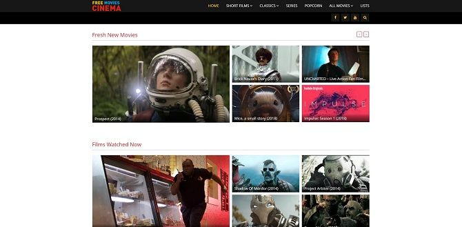 Best free movies streaming sites for free movies online
