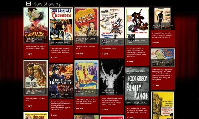 Best free movie streaming sites-Classic Cinema Online